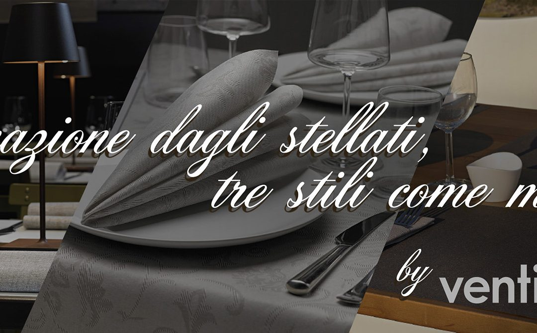 Ricerca* e ispirazione: tre ristoranti, tre stili come modello