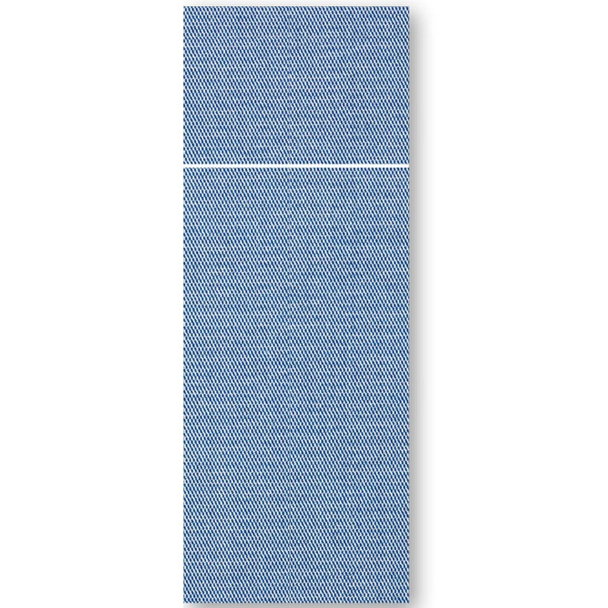 Tovagliolo 32×40 Pocket Tinta Unita Blu